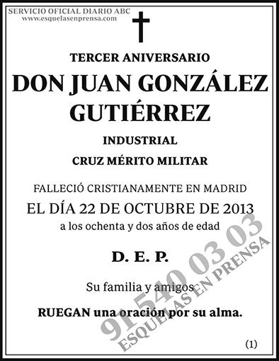 Juan González Gutiérrez